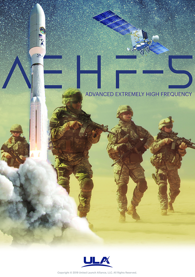 AEHF-5 Mission Artwork