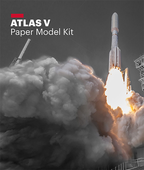 Atlas V Paper Model Kit