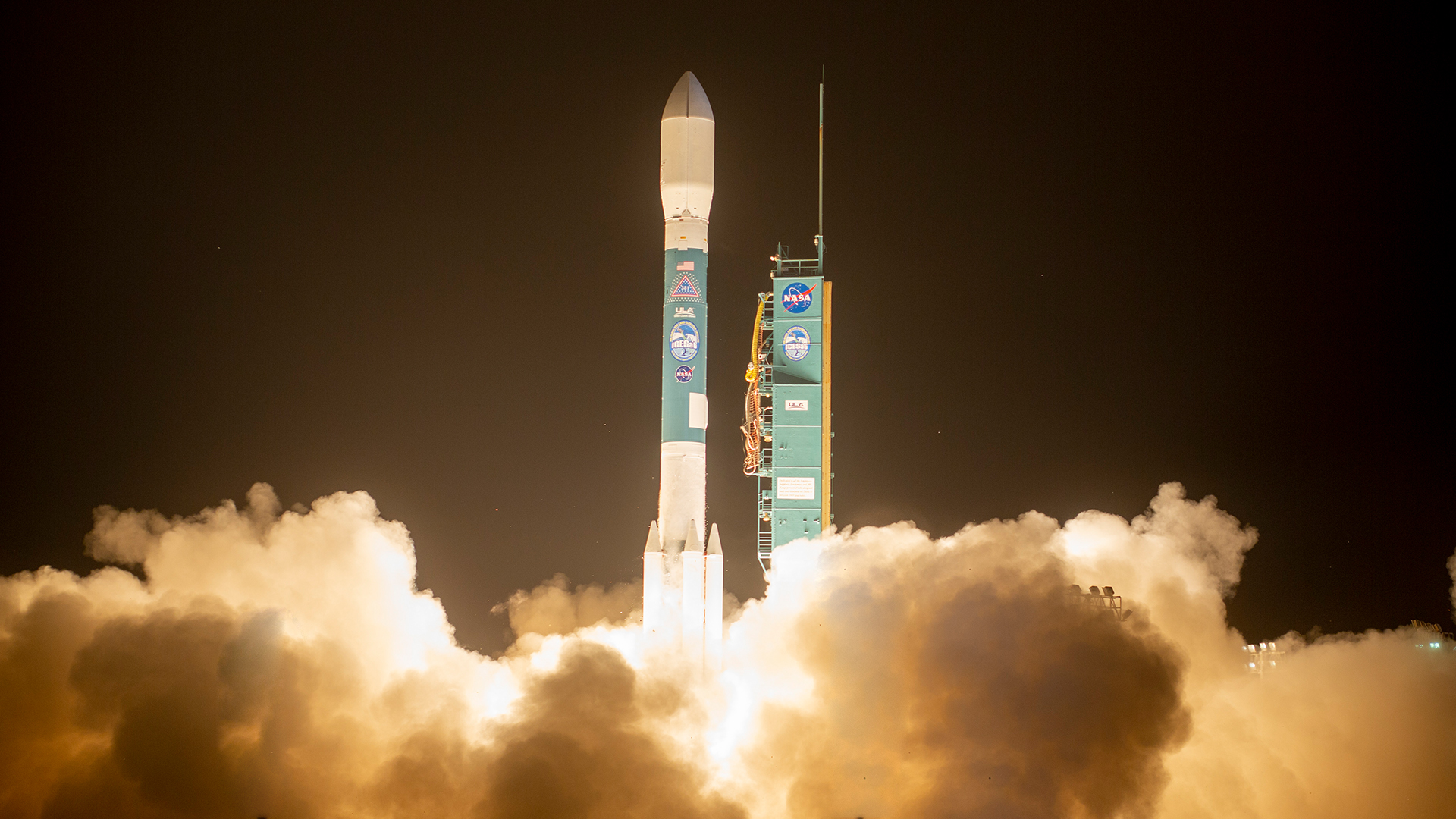 Delta II Blasts off with NASA's ICESat-2 Mission