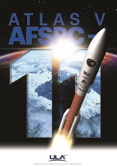 ULA Atlas V AFSPC-11 Mission Artwork
